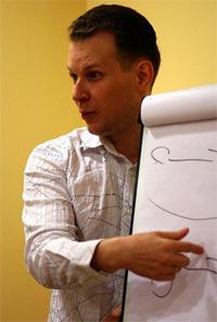 Ведущий тренинга - Дмитрий Кот, директор Агентства Продающих Текстов.