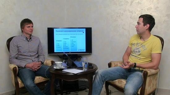 Дмитрий Севальнев и Артур Латыпов на передаче в Мегаиндекс.ТВ