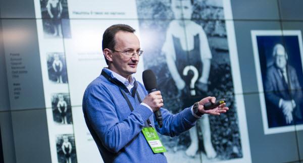 Александр Садовский на конференции IBC Russia 2013