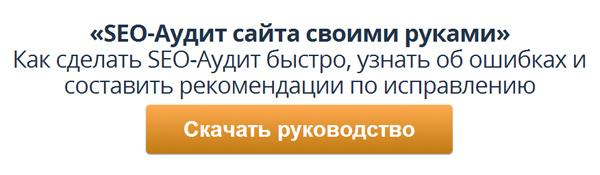 Бесплатное руководство SEO-Аудит своими руками от Дмитрия Шахова