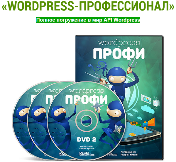 Курс WordPress-профессионал
